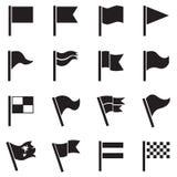 Icône de drapeau illustration libre de droits