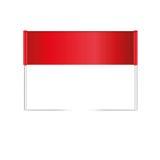 Icône de drapeau Photos libres de droits