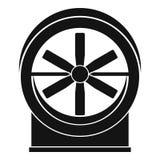 Icône de fan, style simple Photo libre de droits