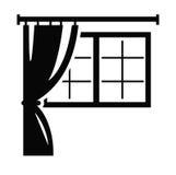 Icône de fenêtre Photos stock