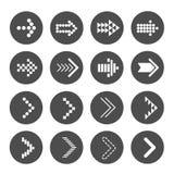 Icône de flèche Illustration de Vecteur
