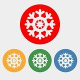 Icône de flocon de neige illustration de vecteur