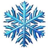 Icône de flocon de neige Photographie stock libre de droits