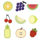 Icône de fruit Image stock