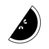 icône de fruit de pomme Delicious Images libres de droits