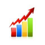 Icône de graphique de gestion Image stock