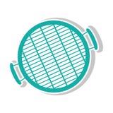 Icône de gril de barbecue Image stock