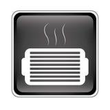 Icône de gril de ventilation Images stock