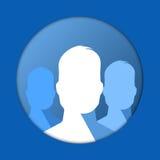 Icône de groupe Photos libres de droits