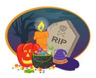 Icône de Halloween Photos libres de droits