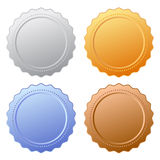 Icône de joint de certificat Photographie stock