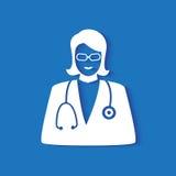 Icône de médecin Photo stock