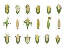 Icône de maïs illustration de vecteur
