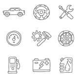 Icône de machine Vecteur Photos libres de droits
