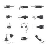icône de matériel électrique Photographie stock libre de droits