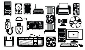 Icône de matériel informatique illustration libre de droits