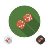 Icône de matrices Illustration Stock