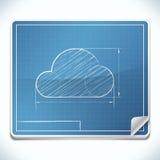 Icône de modèle Photo stock