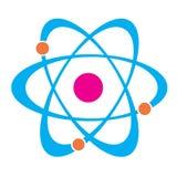Icône de molécule Image stock