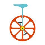 Icône de monocycle Illustration de vecteur de vintage Photo stock