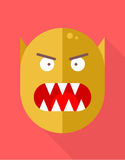 Icône de monstre Image stock
