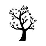 Icône de nature d'usine d'arbre Image libre de droits