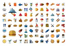 Icône de nourriture Photo stock