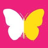 Icône de papillon Images stock