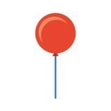 Icône de partie d'air de ballon Photographie stock