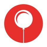 Icône de partie d'air de ballon Photo stock