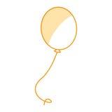 Icône de partie d'air de ballon Images stock