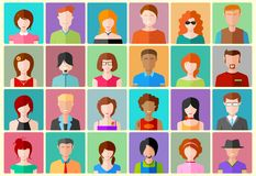 Icône de personnes Images stock