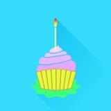Icône de petit gâteau Photographie stock libre de droits