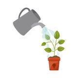 Icône de plante verte Photo libre de droits