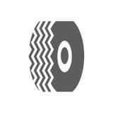 Icône de pneu de voiture Photos stock