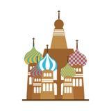 Icône de point de repère du Taj Mahal illustration stock