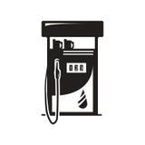 Icône de pompe à gaz Photographie stock libre de droits