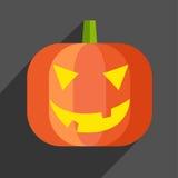 Icône de potiron de Halloween Images libres de droits