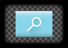 Icône de recherche Photos stock