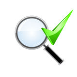 Icône de recherche Vecteur Photo stock