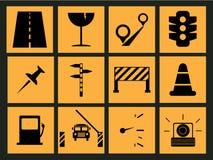 Icône de route Photographie stock libre de droits