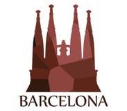Icône de Sagrada Familia Images libres de droits