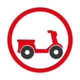 icône de service de distribution de moto Image stock