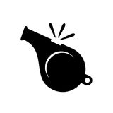 Icône de sifflement illustration stock