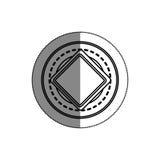 icône de signal de circulation routière Photos stock