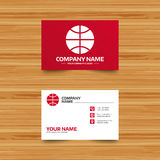 Icône de signe de basket-ball Symbole de sport Photographie stock