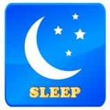Icône de sommeil Photo stock