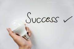 icône de succès Images stock