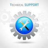 Icône de support technique illustration libre de droits