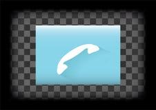 Icône de téléphone Image libre de droits